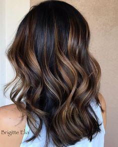 Subtle Balayage Brunette, Hair Color Balayage, Hair Highlights, Subtle Ombre, Caramel Highlights, Color Highlights, Haircolor, Babylights Brunette, Brunette Color
