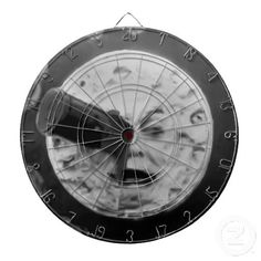 A Trip to the Moon Dart Board