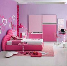 Interior Pink Princess Bedroom