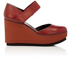 ROBERT CLERGERIE Chicago Platform Wedge Sandals. #robertclergerie #shoes #pumps