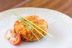 Bolinhos de salmão com batata-doce e requeijão | SAPO Lifestyle
