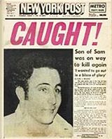 Son of Sam Caught - 1977 Newspaper Article, Old Newspaper, Front Page News, Newspaper Headlines, Headline News, August 10, Thats The Way, Do You Remember, Serial Killers