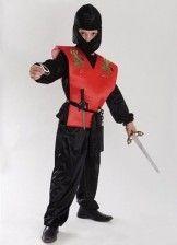 Детский костюм Ниндзя красный