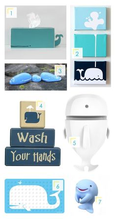 Whale Theme For Kids Bathroom | Corners of Expression