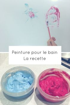 peinture pour le bain Infant Activities, Activities For Kids, Diy For Kids, Crafts For Kids, Learning Games For Kids, Baby Art, Free Baby Stuff, New Baby Products, Diy And Crafts