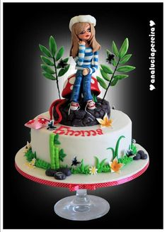 Bolo da Emma - by Ana Lucia Pereira @ CakesDecor.com - cake decorating website