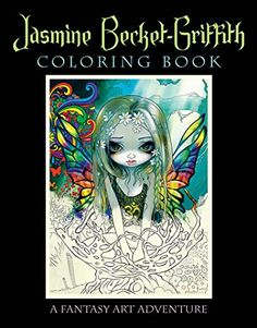Jasmine Becket-Griffith Coloring Book: A Fantasy Art Adventure by Jasmine Becket-Griffith http://www.amazon.com/dp/0738750018/ref=cm_sw_r_pi_dp_yC-Mwb1ER55NK
