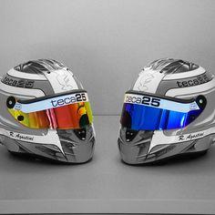 Teca25 helmet by #Schuberth for Riccardo Agostini
