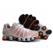 huge selection of 536c7 9ad8b Nike Womens Shox TL3 white orange silver Nike Shox For Women, Nike Women,  Nike
