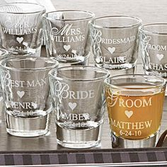 I feel like my future bridal party would adore these...what does that say about my friends?