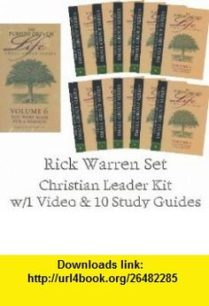 The Purpose Driven Life Small Group Series You Were Made For A Mission (10 Study Guides  VHS Video) Volume 6 Rick Warren ,   ,  , ASIN: B0038OGYK0 , tutorials , pdf , ebook , torrent , downloads , rapidshare , filesonic , hotfile , megaupload , fileserve