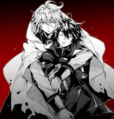 Wow....In these pic, I might actually think Mika is a possessive friend/family of Yuu....