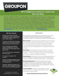 Groupon Call to Action Facts People Around The World, Around The Worlds, Call To Action, Make It Simple, San Francisco, Facts, Business, St Francis, Store
