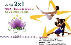 yoga y bailes de salón 2x1 en Chapalita tel.18155704, cel.3313058678