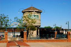 The Historic Haymarket district in Lincoln Nebraska