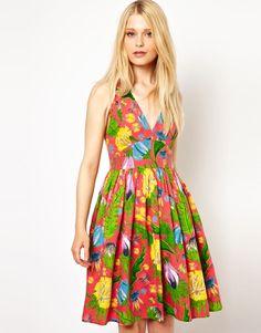 Gallery. Women's Tropical Print Dresses