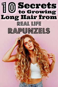 10 Secrets To Growing Long Hair From Real Life Rapunzels - Twins Dish - Hair Tips that work! Hair/ Beauty/ Long Hair Hair Tips that work! Hair/ Beauty/ Long Hair Hair Tips - How To Grow Your Hair Faster, How To Make Hair, Grow Long Hair Fast, How To Long Hair, Growing Long Hair Faster, How To Regrow Hair, How To Style Hair, Curly Hair Styles, Natural Hair Styles