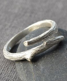 Another great find on #zulily! Sterling Silver Twig Ring #zulilyfinds