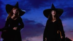 """Sandra Bullock and Nicole Kidman in """"Practical Magic"""" - great movie, great for this time of year too! Practical Magic Quotes, Practical Magic Movie, 90s Movies, Movies To Watch, Sandra Bullock, Nicole Kidman, Evil Children, Real Witches, Perfect Movie"""