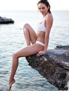 Candice Swanepoel Bikini Photoshoot for Victoria's Secret April 2014