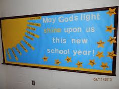 catholic bulletin board ideas, 5th grade - Google Search                                                                                                                                                      More