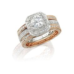 Rose Gold Engagement Ring...HUBBA HUBBA!!!!