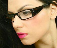 Very Sexy Teacher Thick Rectangular Frame Clear Lens Women Eyeglasses Glasses