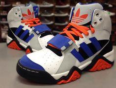 bd590b234b9f Adidas Originals Streetball 1.5 NY Knicks Rare Sneakers New