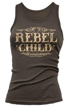 Women's Rebel Child Tank Top