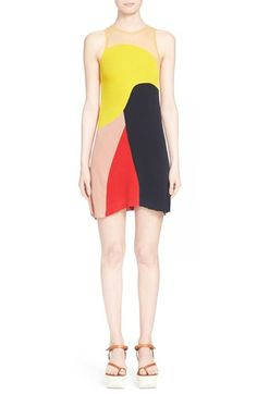 Stella McCartney Colorblock Knit Dress available at #Nordstrom