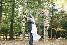 Beautiful Backyard Tent Destination Wedding - McLean, Virginia - www.miminguyen.com