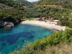 Mikri amos sivota beach