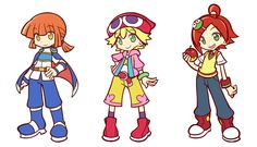 Artist: Kei-Chan  Characters: Arle, Amitie and Ringo