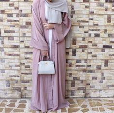 #pink #abaya