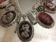 Doctor Who Bracelet featuring David Tennant.