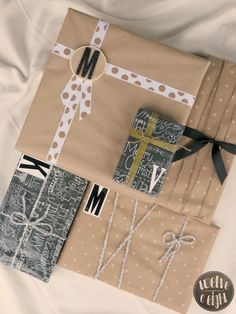 My Country Modern Gift Wrap {2013}