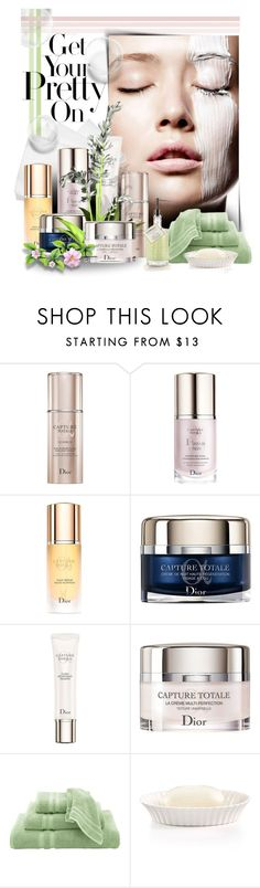 """""""Dior - Skincare"""" by casuality ❤ liked on Polyvore featuring beauty, SkinCare, Christian Dior, Home Decorators Collection and Martha Stewart"""