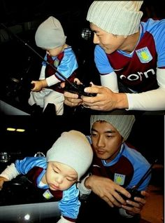 Kwon Sang Woo... has a[n adorable] SON? =o    Hm, why didn't I know about this before now?  I'm torn.. I'm devastated, yet I'm happy for him.. >.<   ~So many feels. :P