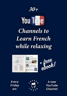 Learn French Verbs Foreign Language Learning Videos Website Product