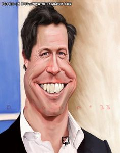 Hugh Grant by Mike Eppe