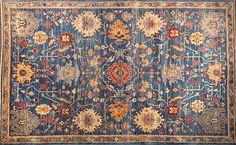 Blue Oushak - Oriental Rugs - Nomad Rugs