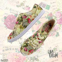 1ba2bec99 Uvacuruba Cartas es un estilo romántico y feminino #sneakerholics