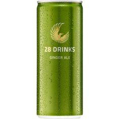 Calidris 28 Ginger Ale Dose 0,25l - Würziges Ginger Ale mit erfrischender Ingwernote.