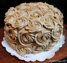 #Coconut #vegan #cake #chocolate