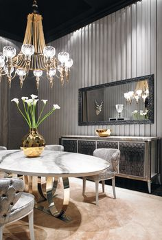 Wiggins - Dining Room | Visionnaire Home Philosophy