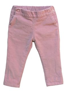 Project Pomona Pants, fit over a cloth diapered bum! NEW PINK CORDUROY JEANS in ECO Skinny-ish Fit