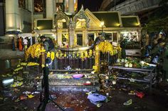 Bangkok Bomb Blast Threatens Thai Tourism - THE WALL STREET JOURNAL #Bangkok, #Bomb, #Blast, #World