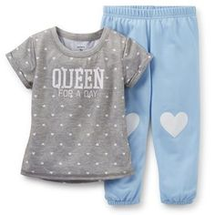 2-Piece Jersey  French Terry PJs