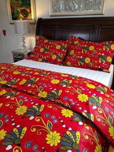 couette imprim africain set housse de couette literie afrique pinterest duvet sets duvet and towels