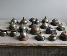 Antique Hotel Service Bell.